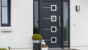 Installation portes d'entrée dans le Val d'Oise par EDK